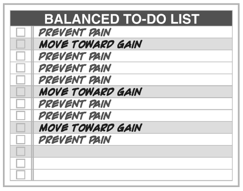 Balanced to do list