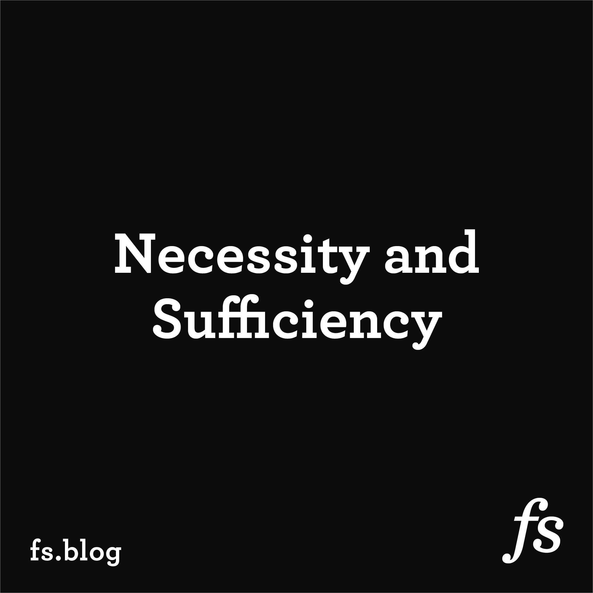 People Don't Follow Titles: Necessity and Sufficiency in Leadership