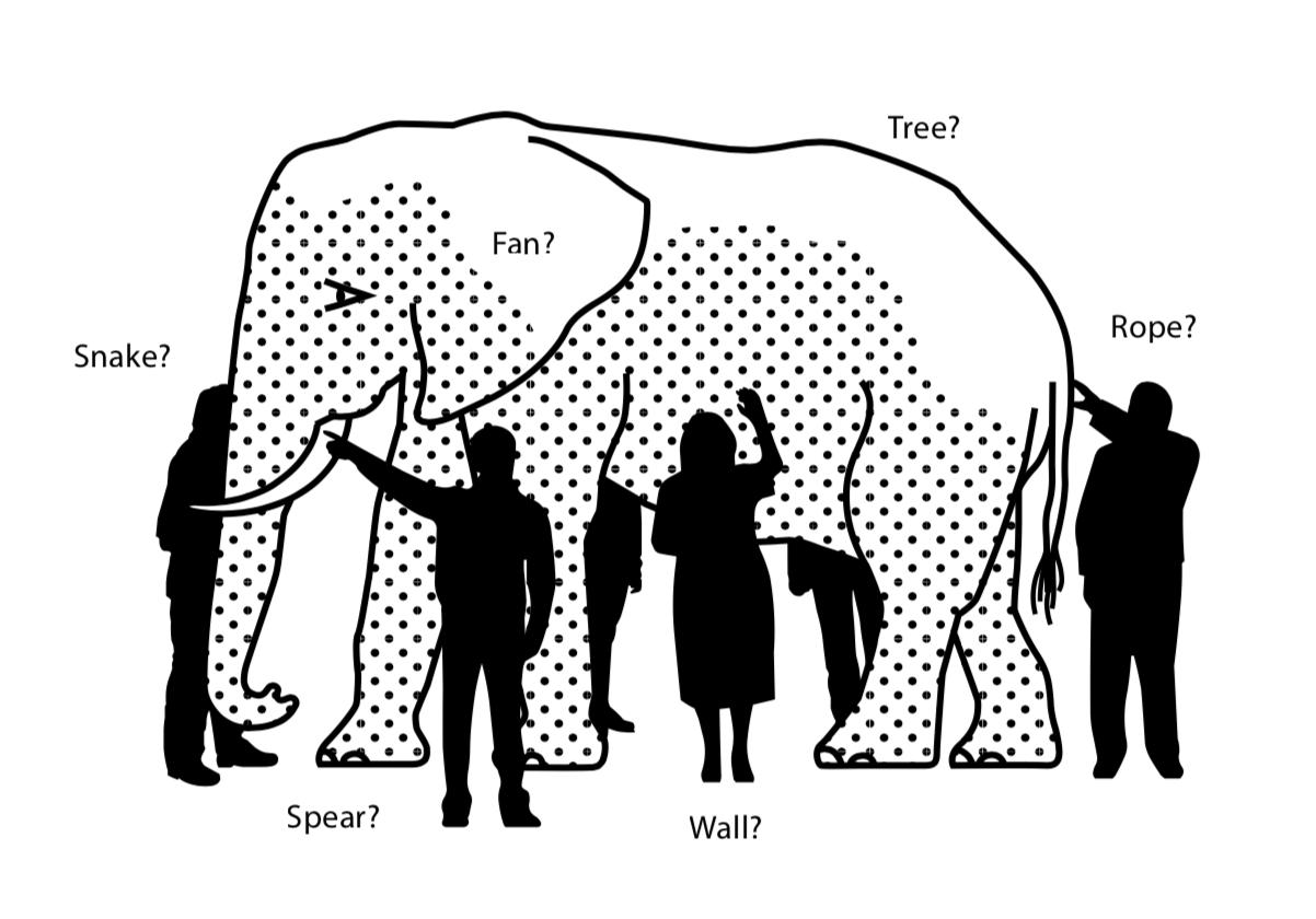 Image result for हत्ती आणि आंधळे